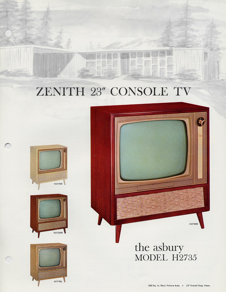 Zenith asbury console tv  s a photo on flickriver