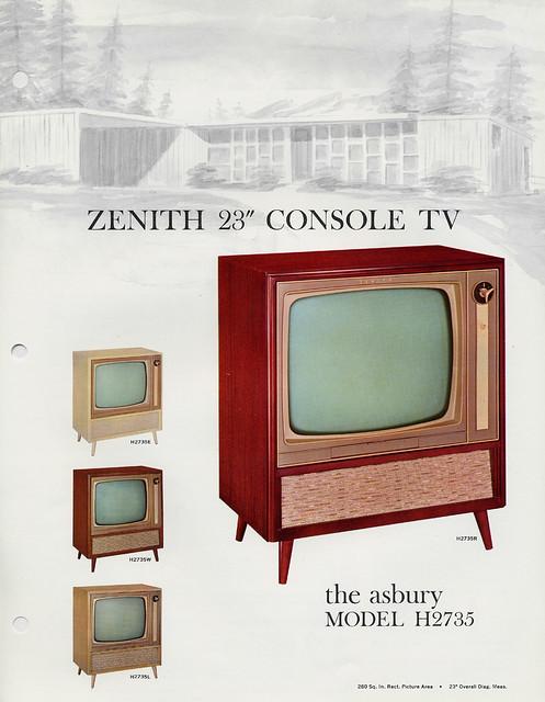 Zenith Console Tv ~ Zenith asbury console tv  s a photo on flickriver