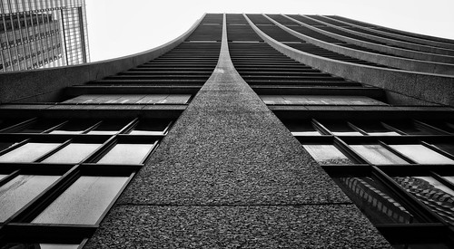 bw chicago building architecture blackwhite downtown theloop gapersblock chicagoist