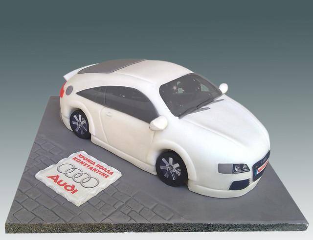 Audi R Birthday Cake