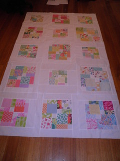A quilt top for Claire