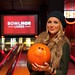 Stephanie Pratt Poses at Bowlmor Times Square