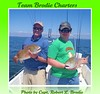 BILOXI MISSISSIPPI FISHING & REDFISH RULE! - Tom & Thomas OBryan from Memphis, TN with some big redfish the landed fishing aboard TEAM BRODIE CHARTERS - Photo by Capt. Robert L. Brodie by teambrodiecharters