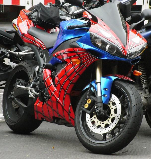 5540597939 1edd4e7126 - Spider man moto ...
