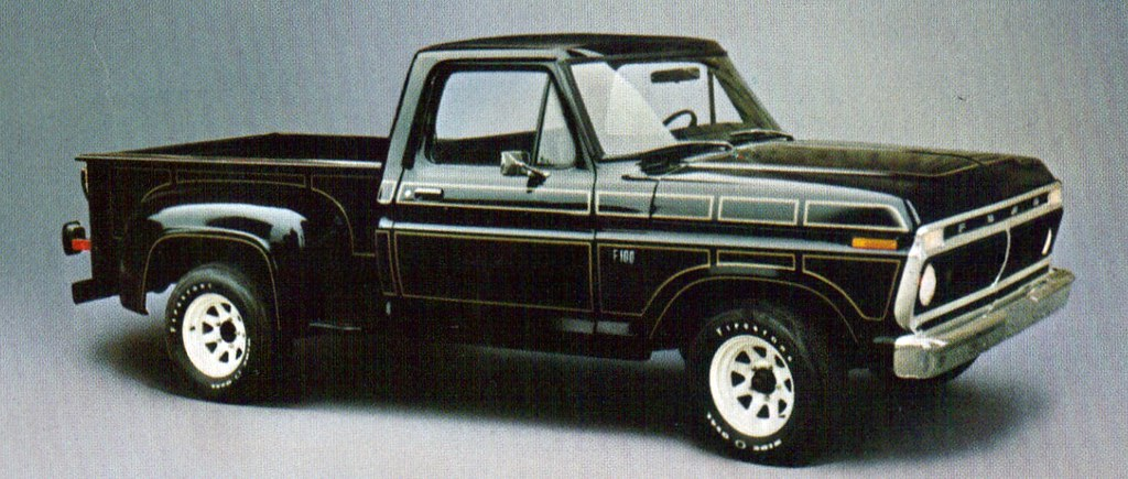 Collectible Automobile Magazine Website 1976 Ford E-100 Short Bed Step Side Pickup Truck - a photo on ...