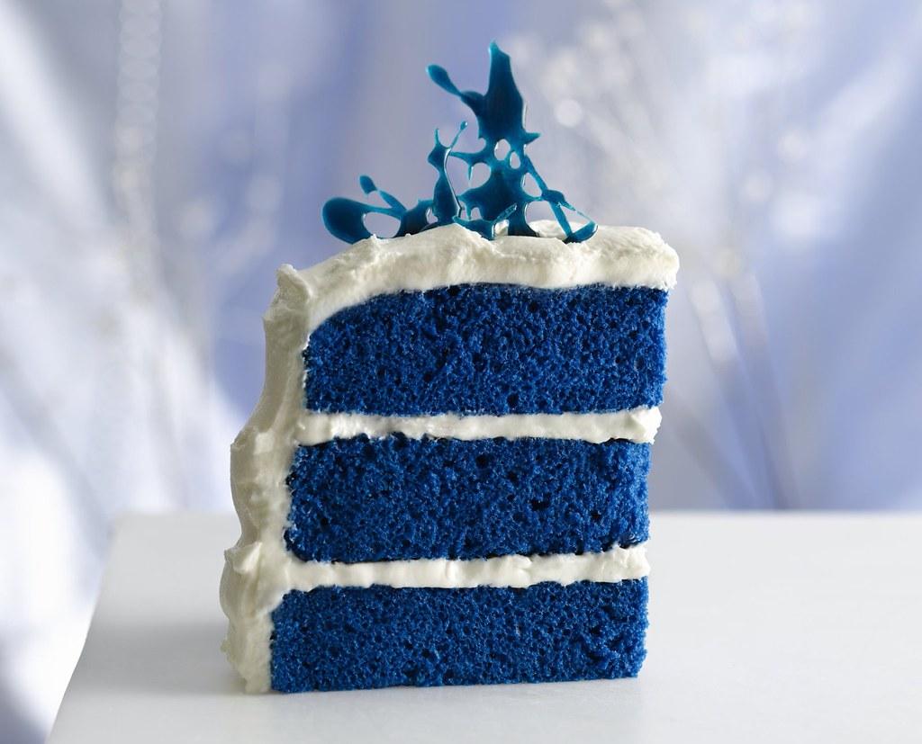 Royal Blue Velvet Cake Recipe a photo on Flickriver