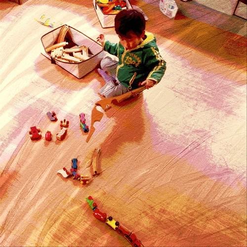 遊び終わったらお片づけ☆ #iPhoneography #kodomo #children - 無料写真検索fotoq