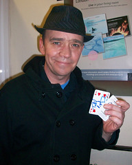 Todd Carty supports GOSH in Eastbourne