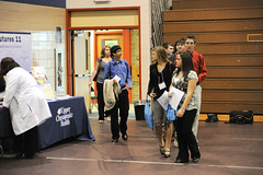 Aspiring scientists explore their futures at career fair
