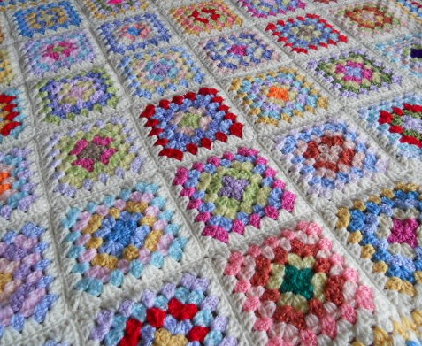 Crochet Patterns Granny Square Baby Blankets : Crochet Granny Squares Baby Blanket Flickr - Photo Sharing!