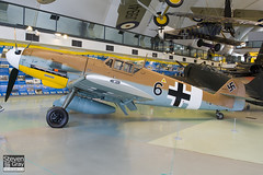 G-USTV - 10639 - RAF Museum - Messerschmitt Bf-109G2 Trop - 080203 - Hendon - Steven Gray - IMG_7009