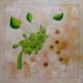 Creamy Cabbage Casserole food painting for the vegetarian recipes cookbook by Australian artist Fiona Morgan