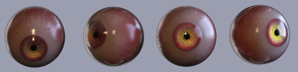 monster eye test
