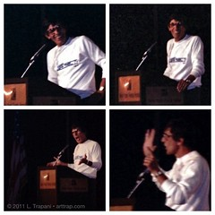Happy 80th Birthday, Leonard Nimoy of #StarTrek! These photos I took 25 years ago of him in NYC