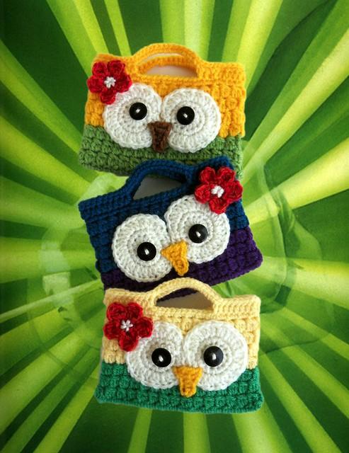 Cute Owl Purses