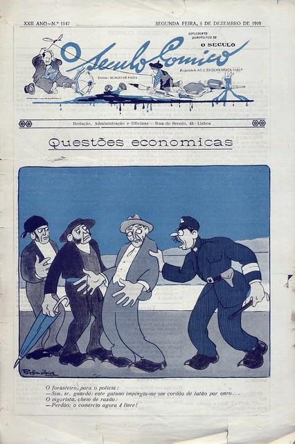 O Século Cómico, Nº 1147, Dezembro 8 1919 - capa