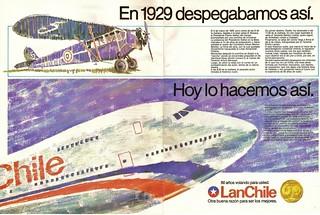 LAN Chile 60 años - VM 1989 Marzo