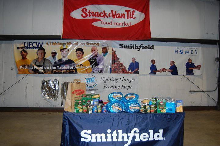 Smithfield Foods Donates to The Food Bank of Northwest Indiana