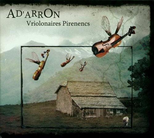"""CD """"Vriolonaires Pirenencs"""" - volume 1 - Visuel de pochette par Coline Hateau : http://www.myspace.com/colinettearoulette"""