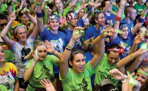 UNIVERSITY OF IOWA DANCE MARATHON
