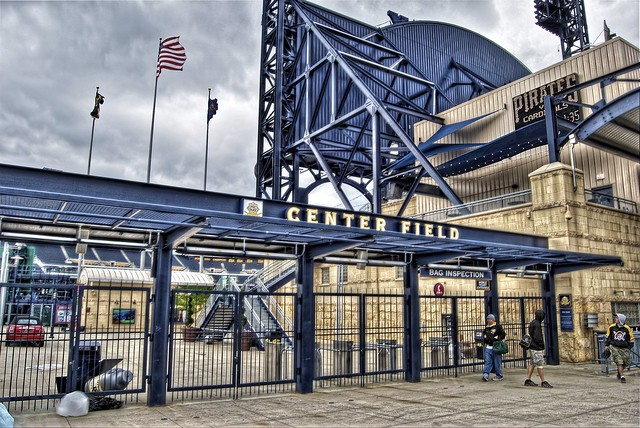 Center Field Gate at PNC Park