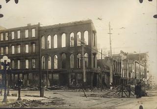 Lowe Brothers Paint, Dayton, OH - 1913 Flood
