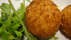 vegetable, fishcake, panko, croquette, fried food, crab cake, cutlet, arancini, fritter, korokke, frikadeller, food, dish, cuisine, potato pancake, fast food, falafel,