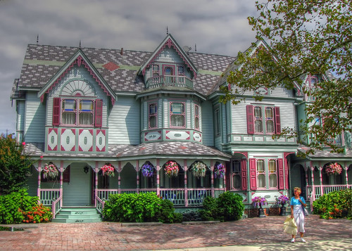 Victorian House in Cape May, NJ by twg1942