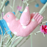 Hand-made Easter Birds