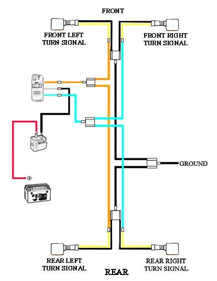 kpx 200 turn signal wiring diagram chinariders forums 49Cc Scooter Wiring Diagram Electric Scooter Wiring Diagrams