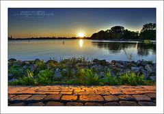 Sunset @ Rotterdam Kralingseplas