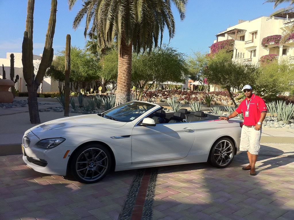 2012 BMW 650i Convertible Drive in Los Cabos, Mexico