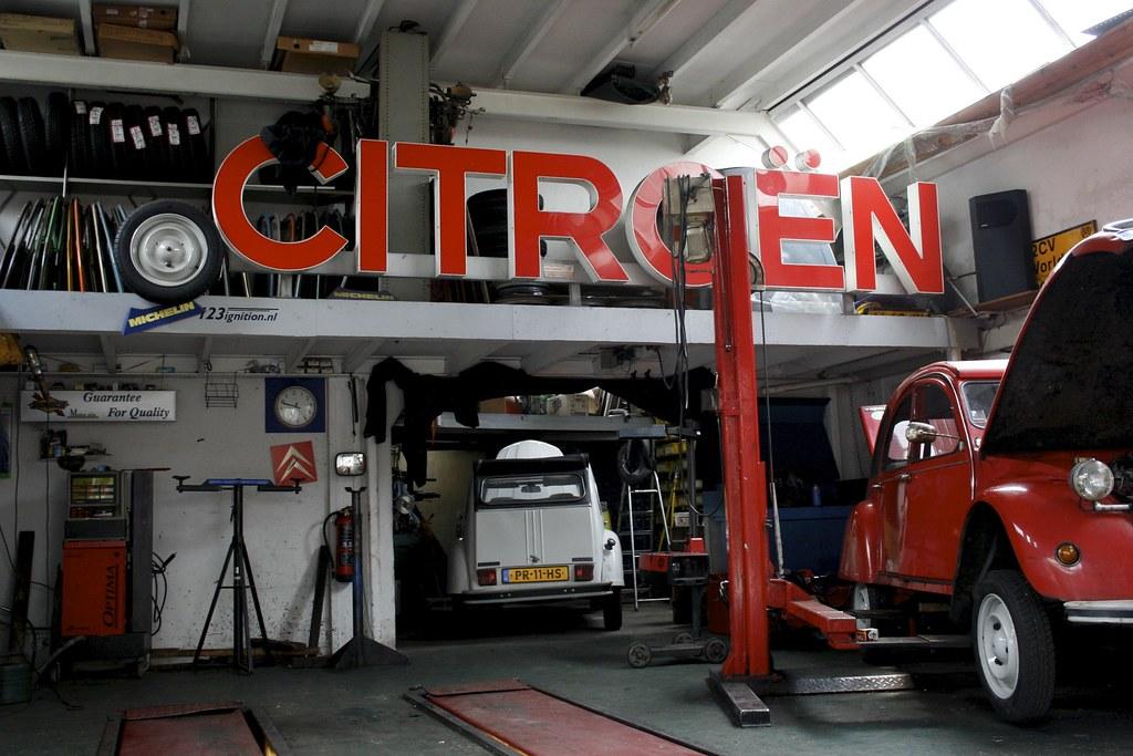 Mooie garages werkplaatsen for Garage volkswagen lyon