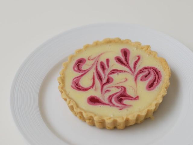 White chocolate and raspberry tart | White chocolate and ras ...