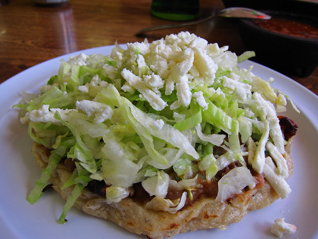 Carnitas Sopes, by y6y6y6 (not from Mama Chuy)