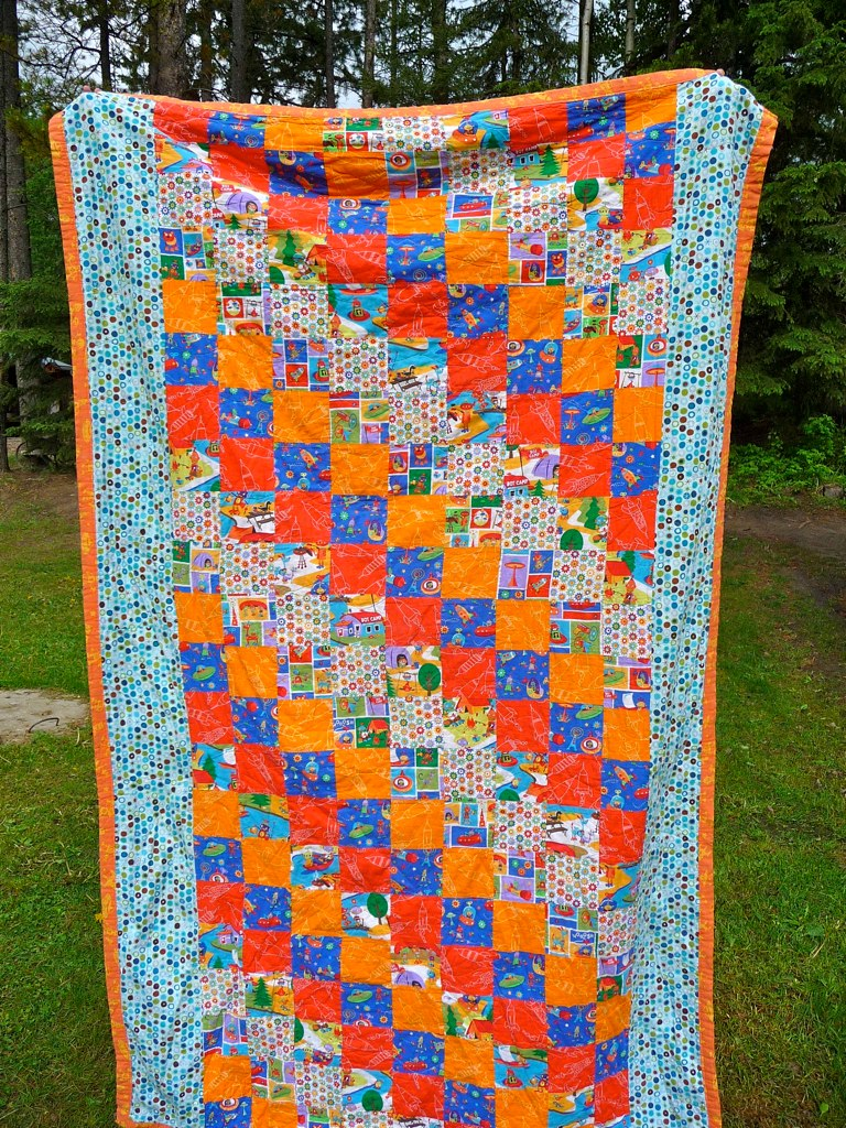 Joey's Robot Camp Quilt