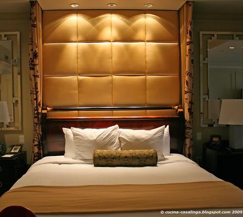Palazzo Luxury Suite Bett