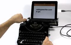 iPadUSBTypeWriter