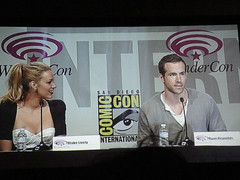 WonderCon 2011 - Blake Lively and Ryan Reynolds at the Green Lantern panel