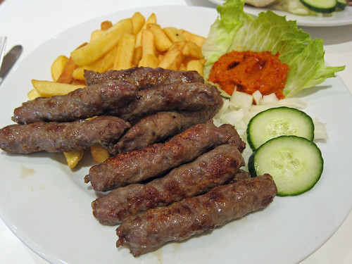 Cevapi and Chips