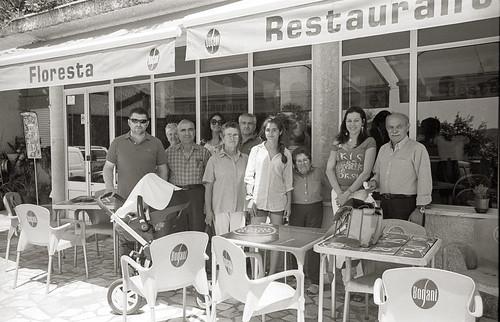 A família depois do almoço, Restaurante Floresta, Moinho do Pisco