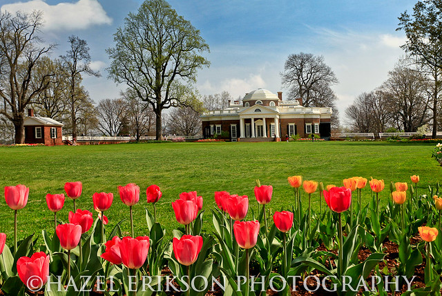Monticello,Home of Thomas Jefferson
