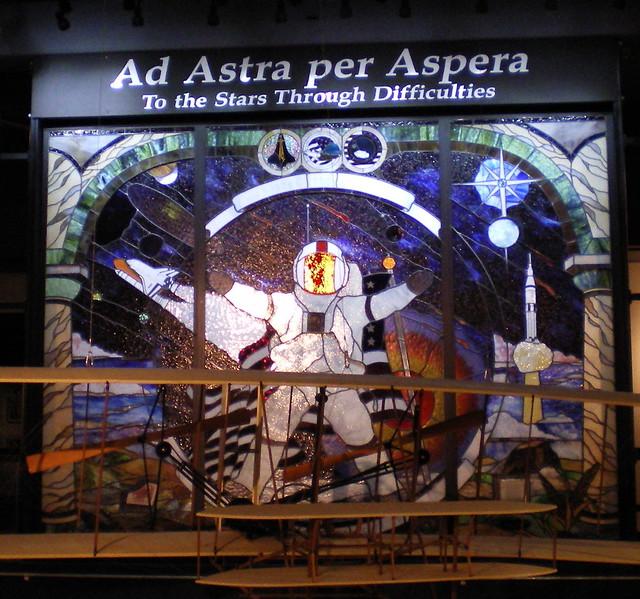 Header of Ad astra per aspera