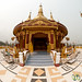 Fisheye View of Golden Temple - Bandarban, Bangadesh