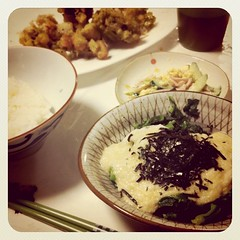 ありがたく夕飯。。