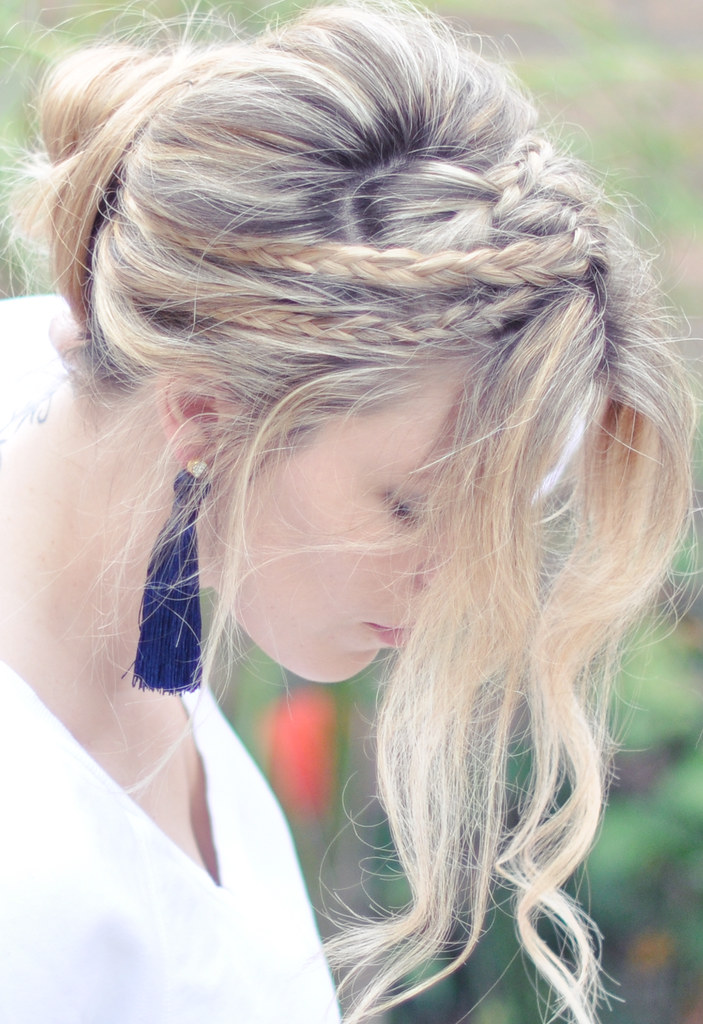 Hair Tutorial | Messy Rope Braids with Low Bun or Long ...