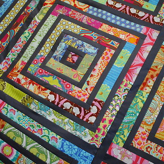 Soul Blossoms Quilt Top