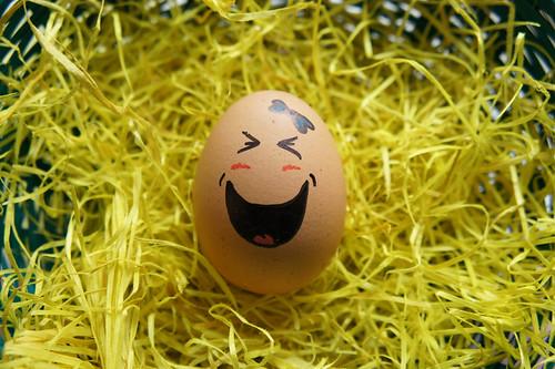 funny egg.