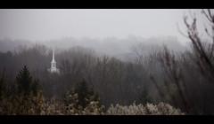 Steeple in Fog | 112/365