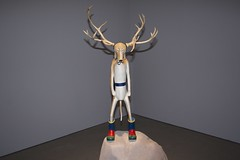 art, antler, deer, sculpture, reindeer,